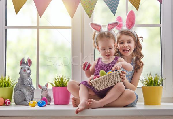 子供 着用 バニー 耳 2 かわいい ストックフォト © choreograph