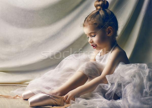 dancing gracefully  Stock photo © choreograph