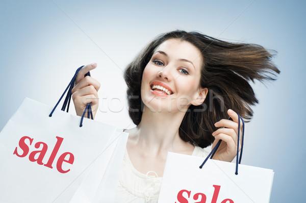 shopping bags Stock photo © choreograph