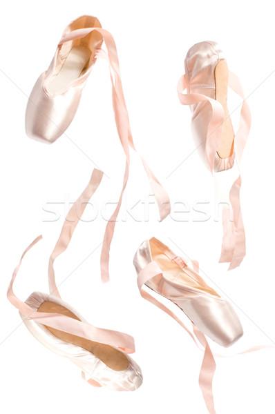 ballet shoes Stock photo © choreograph