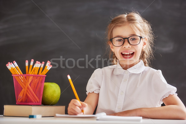 Kid is learning in class Stock photo © choreograph