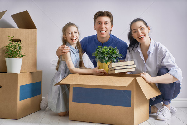 Concept of housing for family Stock photo © choreograph