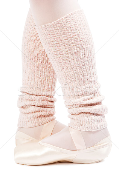 legs in ballet shoes 3 Stock photo © choreograph