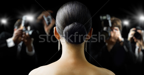 Photo stock: Paparazzi · photos · film · star · fille