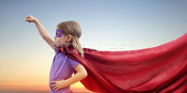 Stock photo: superhero