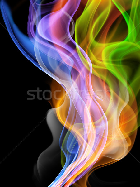 Abstract luminos abstractie incendiu proiect Imagine de stoc © choreograph