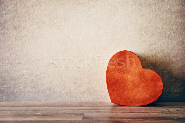 gift box in heart shape Stock photo © choreograph