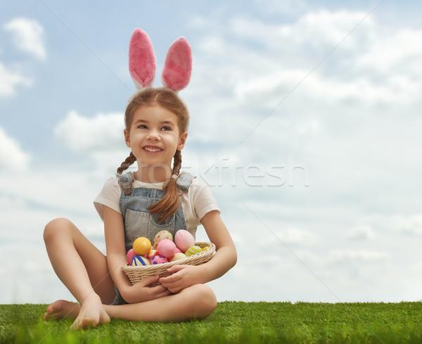 Сток-фото: девушки · Bunny · ушки · Cute · мало