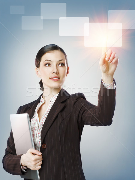 Stock photo: making choice