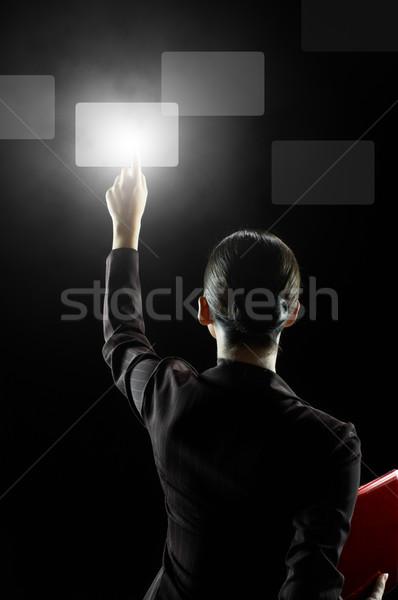 選択 成功した 人 革新的な 技術 ストックフォト © choreograph
