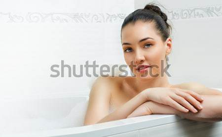 Stock photo: nice running girl