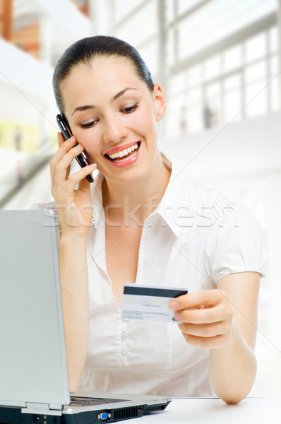credit card Stock photo © choreograph