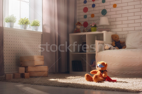 Interior of bedroom for child. Stock photo © choreograph