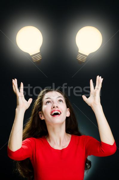 illuminated bulb Stock photo © choreograph