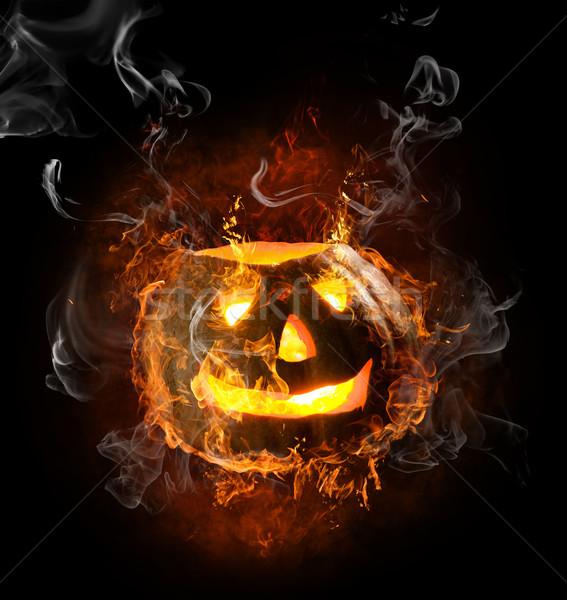 Imagine de stoc: Simbol · luminos · negru · incendiu · abstract · portocaliu