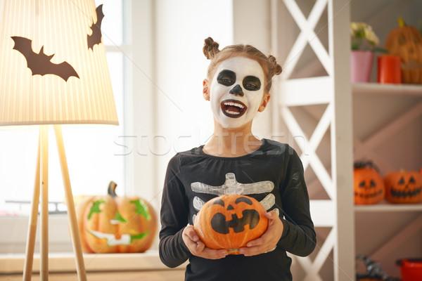 child on Halloween Stock photo © choreograph