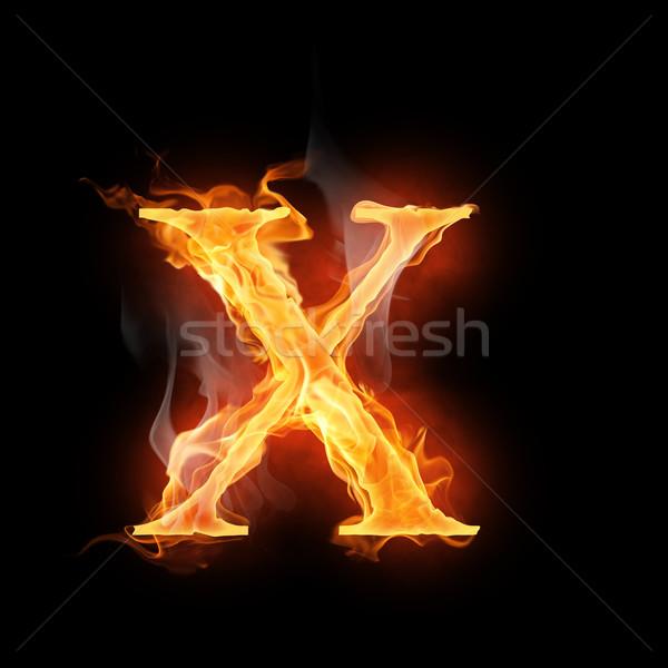 flamy symbol Stock photo © choreograph