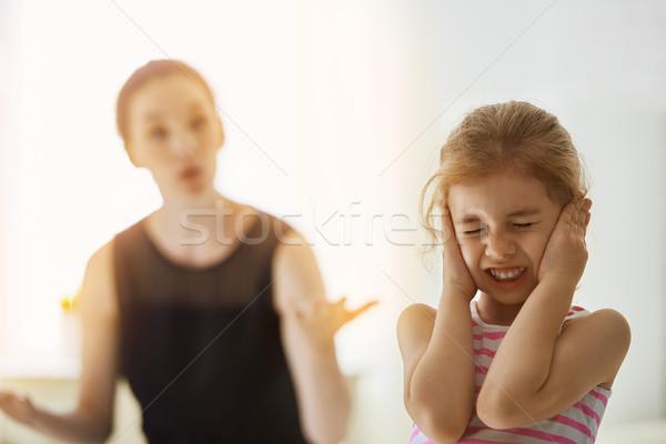 scold Stock photo © choreograph