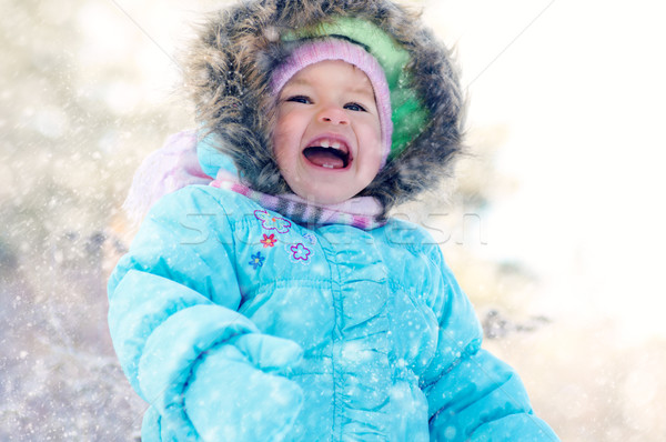 beauty child Stock photo © choreograph