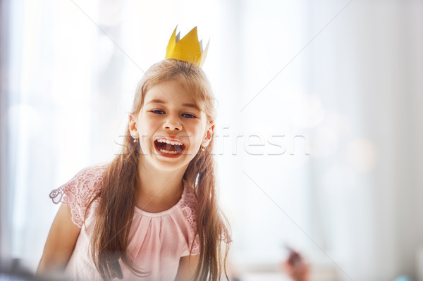 girl in a princess costume Stock photo © choreograph