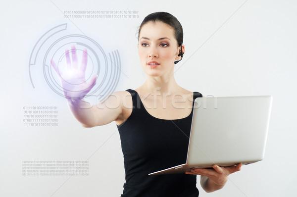 инновационный успешный человек женщины Сток-фото © choreograph