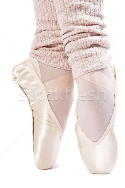 legs in ballet shoes 7 Stock photo © choreograph