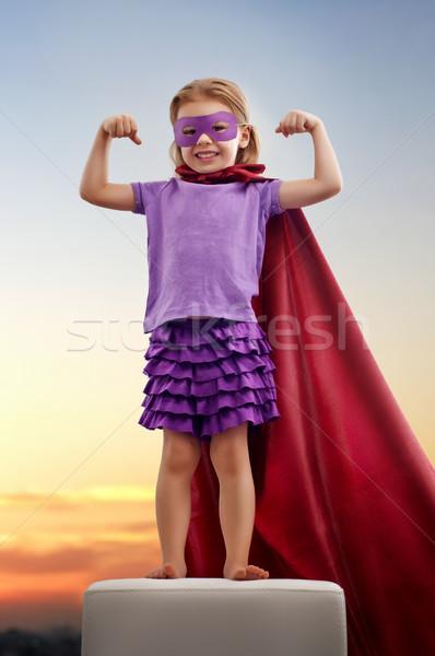 superhero Stock photo © choreograph