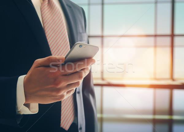 Portrait of a confident man Stock photo © choreograph