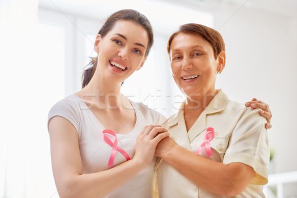 Pink ribbon concept Stock photo © choreograph
