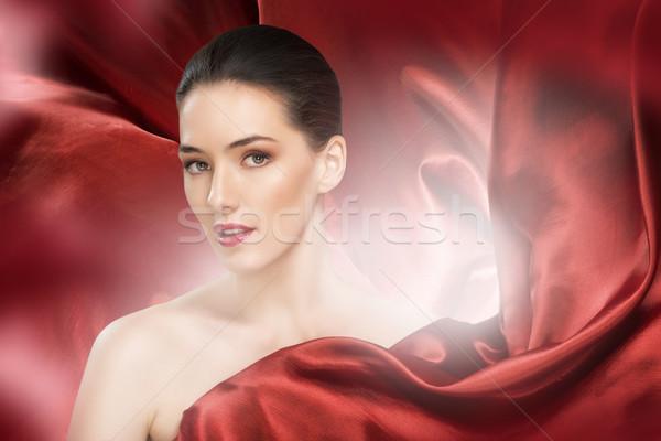 red scarf Stock photo © choreograph