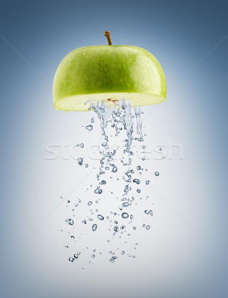 Succosa frutta blu acqua pioggia verde Foto d'archivio © choreograph