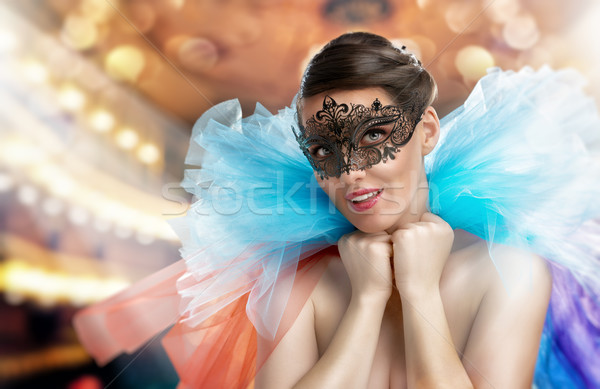 masquerade mask Stock photo © choreograph