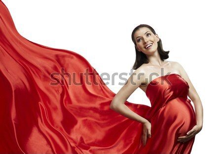long dress Stock photo © choreograph