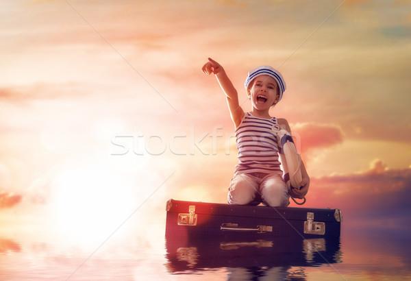 Dreams of sea Stock photo © choreograph