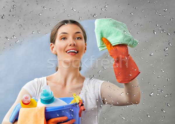 housewife Stock photo © choreograph