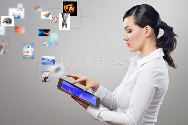 tablet pc Stock photo © choreograph