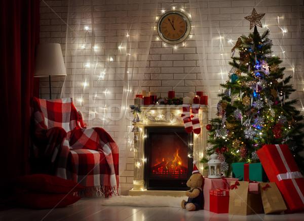 christmas celebration Stock photo © choreograph