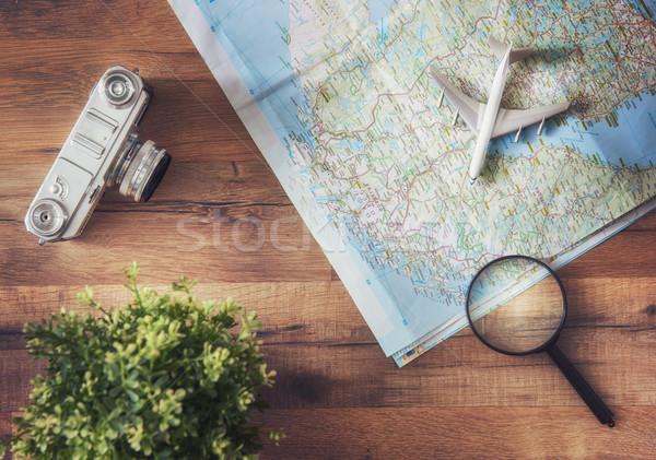 Go on an adventure! Stock photo © choreograph