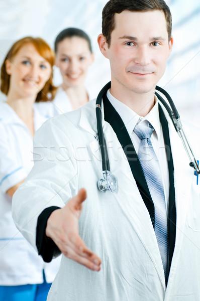 врач команда опытный подходящий врачи Сток-фото © choreograph