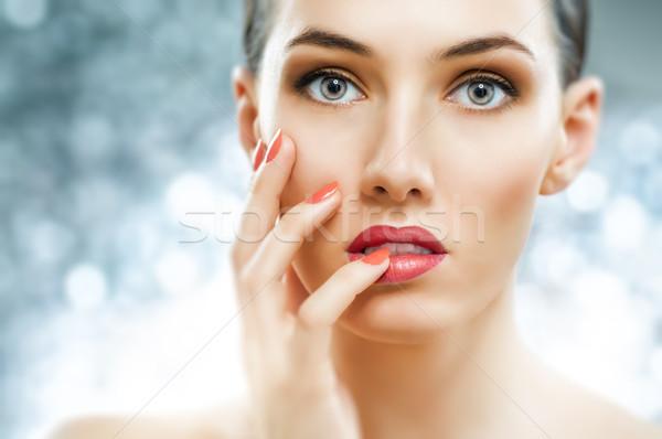 colorful manicure Stock photo © choreograph