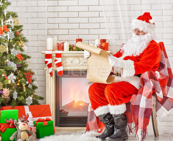 Portrait of Santa Claus Stock photo © choreograph