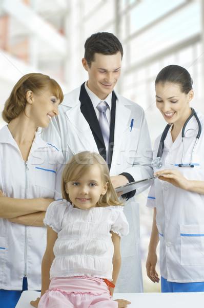 Médico equipe experiente qualificado médicos Foto stock © choreograph