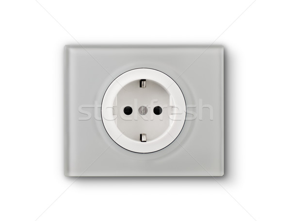 electrical outlet Stock photo © choreograph