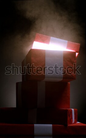 Chritmass presents from Santa  Stock photo © choreograph