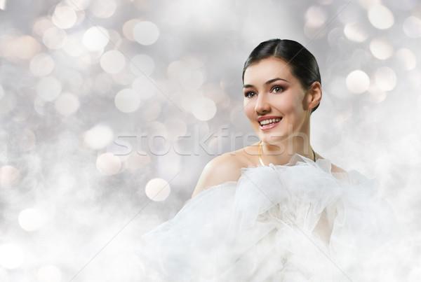 healthy woman Stock photo © choreograph