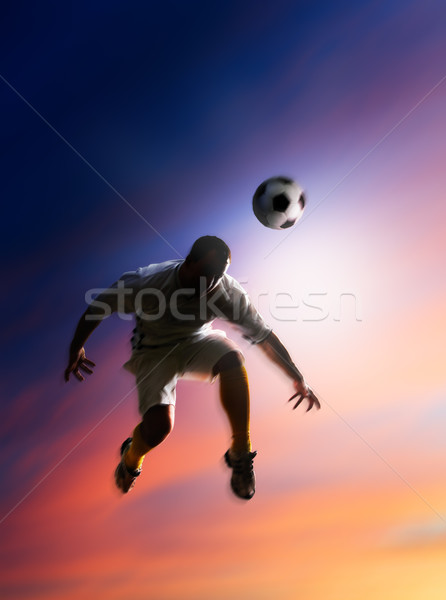 soccer player Stock photo © choreograph