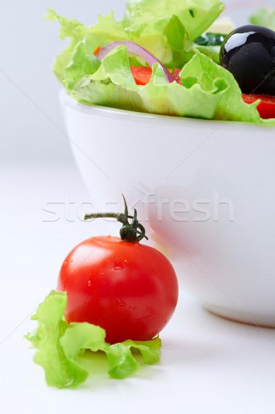Cibo sano fresche vegetariano insalata piatto alimentare Foto d'archivio © choreograph