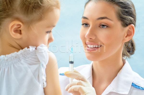 pediatrician Stock photo © choreograph