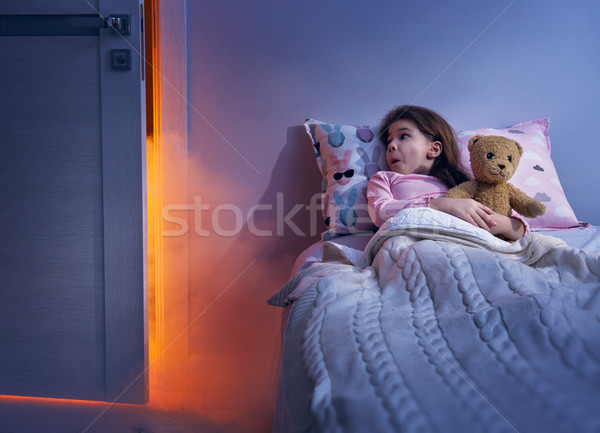 Nightmare for children. Stock photo © choreograph