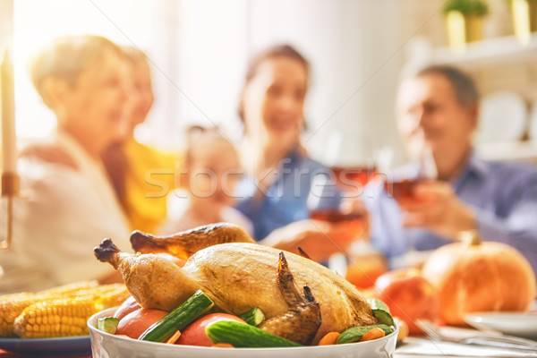 Stock photo: Happy Thanksgiving Day